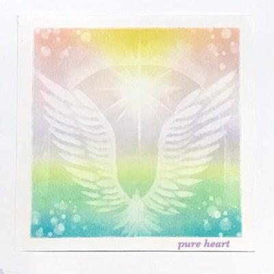 あわ~い色合いに癒される両翼の羽根(*´꒳`*)の記事に添付されている画像