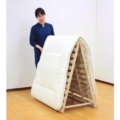 スタンド式で布団干し簡単 すのこベッドの記事に添付されている画像