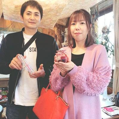 奥さまへハーバリウムボールペンをプレゼント 旦那様の手作り 松山市花屋 パールフの記事に添付されている画像