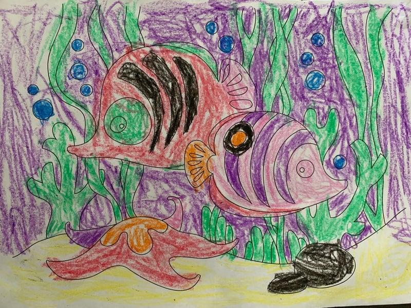 5歳2ヶ月 アート Mqueen の オーストラリア life