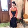 卒業式 高校生 袴の画像
