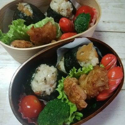 【お弁当】 炊き込みごはんのおにぎりの記事に添付されている画像