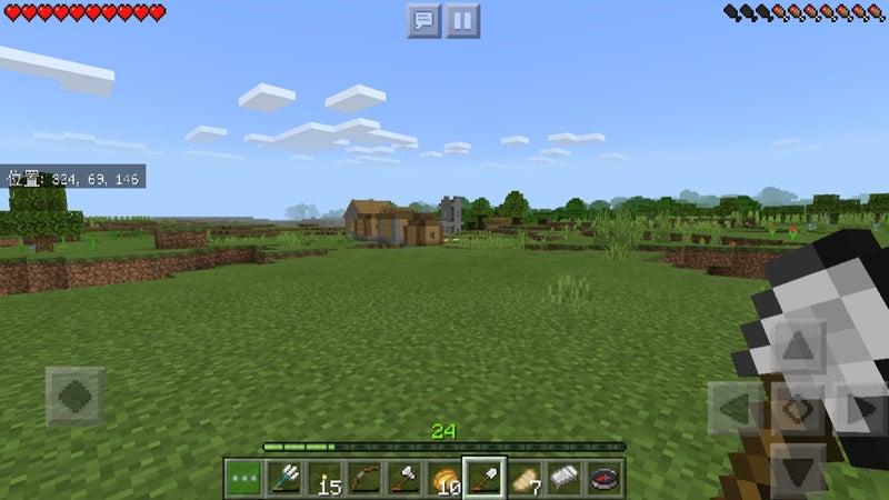 村を守る マイクラ