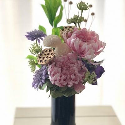 プリザーブドフラワー仏花の記事に添付されている画像