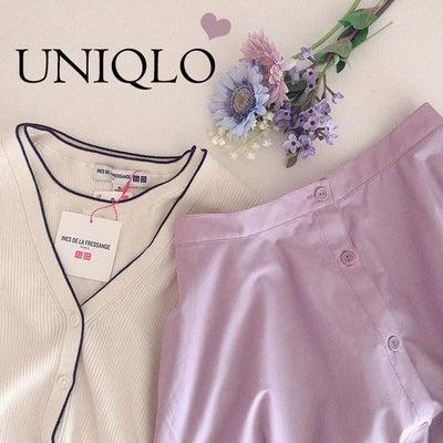 ユニクロで春服を調達しました♡の記事に添付されている画像