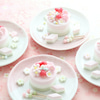 小さいケーキにびっくり!?ひなまつりケーキレッスンの画像
