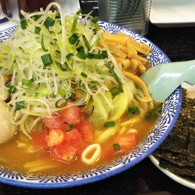麺屋青山本店の今月の限定麺の記事に添付されている画像