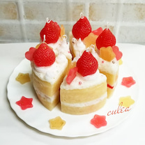 ケーキキャンドルづくりの記事に添付されている画像