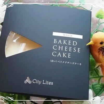 白いベークドチーズケーキの記事に添付されている画像