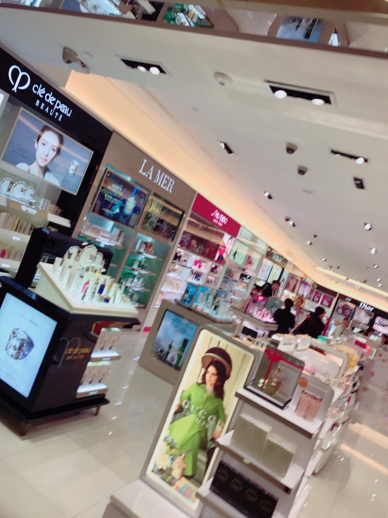 f358f5c5dc89 台北 #松山空港 の #免税店 #コスメ などこんな感じ❤ #国際線制限 ...