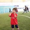 ダウン症児親子サッカースクール☆に参加したよーの画像