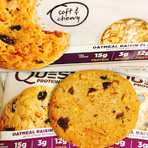 このボリュームで低糖質は嬉しいです!プロテインクッキー、オートミールレーズンの記事に添付されている画像