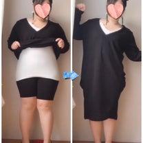 まんまる3L女子!ニットワンピは体のラインを拾うから怖いの!?の記事に添付されている画像