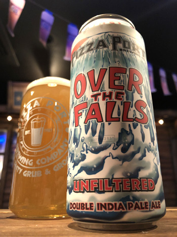 Pizza Port Over The Falls Unfiltered Double IPA   BEER BAR WILDZ