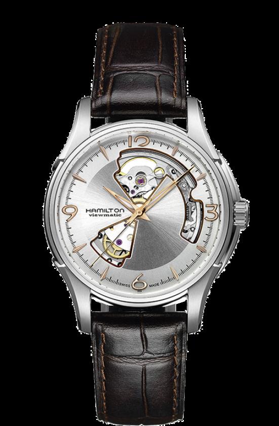 huge discount dd9d6 4ece2 ハミルトン 腕時計 『ジャズマスター オープンハート ...