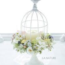 鳥かごの花飾りの記事に添付されている画像