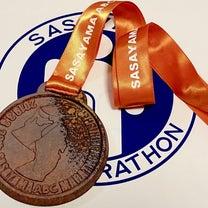 篠山マラソン2019の詳細-ゴール後の記事に添付されている画像