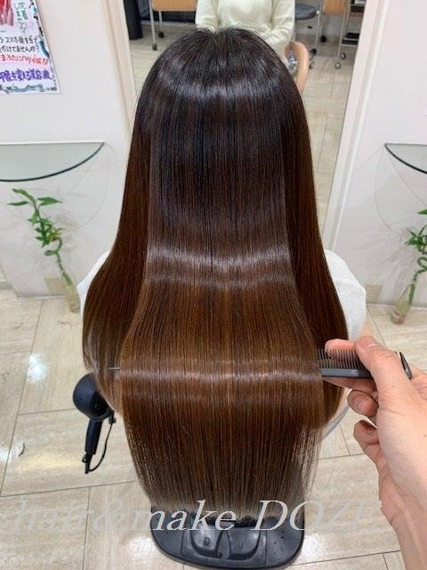 髪質改善プレミアムトリートメント3回目の綺麗さ♡