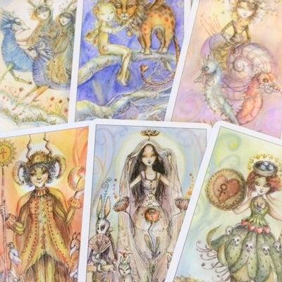 タロット占い 何度も同じカードが出るとき もしくは手からこぼれ落ちるときの記事に添付されている画像