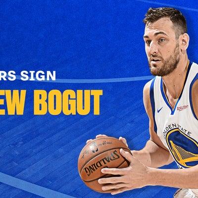 NBA:アンドリュー・ボーガット、正式ウォリアーに!ベイエリアにお帰りなさい!の記事に添付されている画像