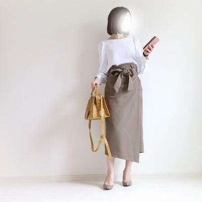Code♡華ラップスカート着回し①の記事に添付されている画像