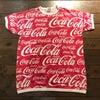 80's Coca Cola   all over print  Teeの画像