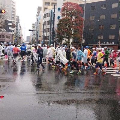 【レポ②】東京マラソン2019【レース編】の記事に添付されている画像