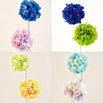 紫陽花のオーナメントボールの記事に添付されている画像