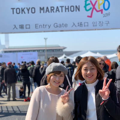 東京マラソン1の記事に添付されている画像