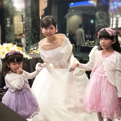 ウエディングドレス・エマ理永・美しいプリンセスから第一弾お友達のお写真が!!の記事に添付されている画像