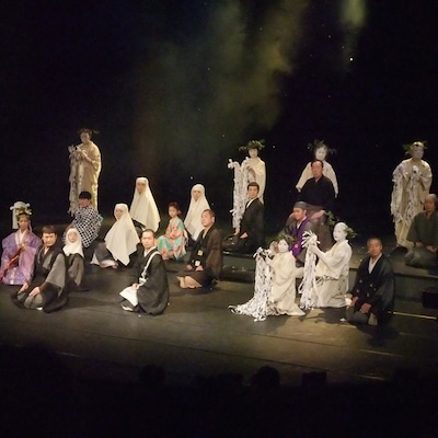 遊行かぶき「一遍聖絵」演劇公演、本日千秋楽&役作りで髪を黒くしてますwの記事に添付されている画像
