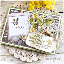 春色のバースデーイーゼルフォトカード♪の記事に添付されている画像