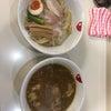 ラーメン モリン【モツ入り豚骨カレーつけ麺】@滋賀 滋賀県庁前 31.2.23の画像