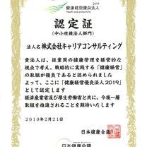 【続報】「健康経営優良法人2019(中小規模法人部門)」に認定!の記事に添付されている画像