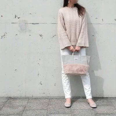 気が付けば全身しまむらコーデ❥しまむら×倉敷帆布トートバッグを持って♡の記事に添付されている画像