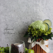 アドバンスコースとホームデコールコース bloomish東京目黒フラワーアレンジの記事に添付されている画像