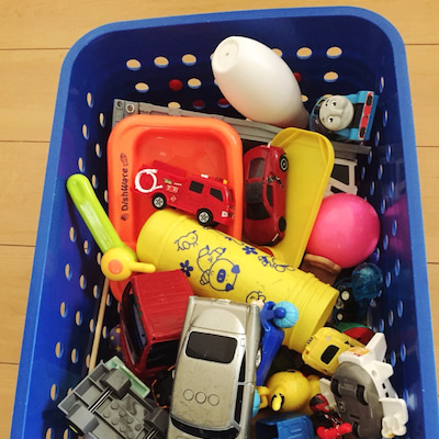 おもちゃのオーガナイズの記事に添付されている画像