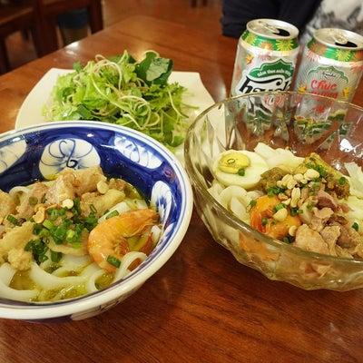 今まで食べた麺料理Best5に入る美味しさだったー!「Mì Quảng Quêの記事に添付されている画像