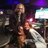 スタジオに愛犬の画像