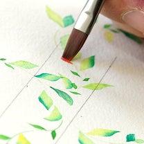 カリグラフィー教室便り・描いて、切って♪の記事に添付されている画像