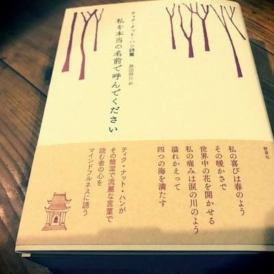 3/11に。『ティクナットハン詩集 私を本当の名前で呼んでください』の記事に添付されている画像