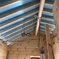 わんこ別荘建築中12 屋根の断熱施工の記事に添付されている画像