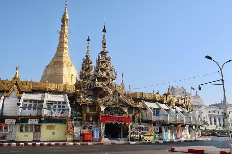 ヤンゴン散歩1