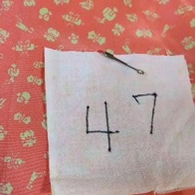 襦袢だけで着物のたとう紙にもサイズを記入&棄てようと思った着物は♪の記事に添付されている画像