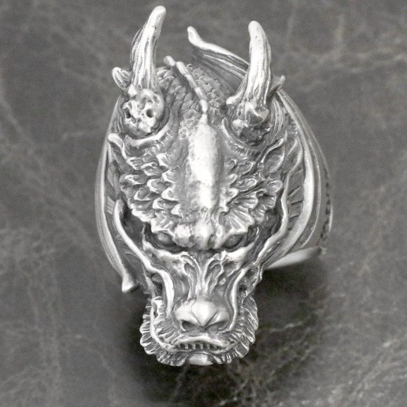 dualflow デュアルフロウ 竜 龍 ドラゴン dragon リング ring シルバーギークス