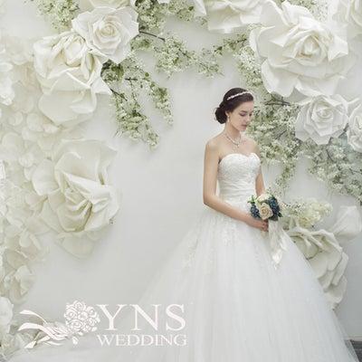 ☆ウェディングドレスから水色のカラードレスへ(SL16936)☆の記事に添付されている画像
