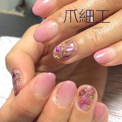 ピンクネイル♡ と・・・看板犬シュナの夫婦の物語の記事に添付されている画像