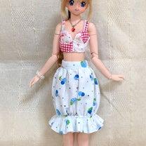 コスプレ衣装製作その1:フリルのあるバルーンスカート?もどき?の試作の記事に添付されている画像