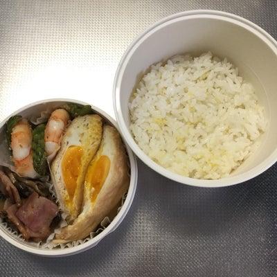 今日のお弁当と昨日のお昼ご飯の記事に添付されている画像