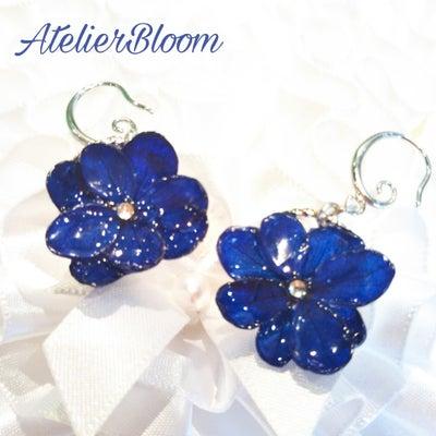 お世話になった方へキラキラ紫陽花ピアスのプレゼントの記事に添付されている画像